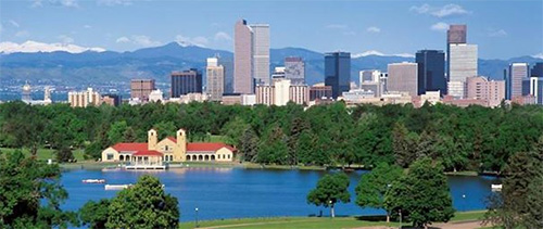 city scene of Denver